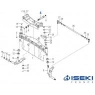 Axe de Pivot ISEKI (1728-433-001-10)