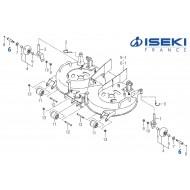 Axe Galet ISEKI (8663-501-001-10)