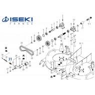 Ressort Tendeur ISEKI (1337-401-006-00)