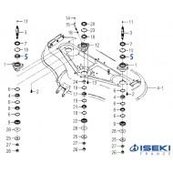 Roulement Palier ISEKI (V600-110-690-80)