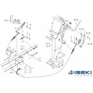 Câble HST ISEKI (1728-273-230-10)