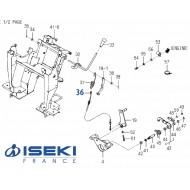 Câble d'Embrayage ISEKI (1728-334-710-10)