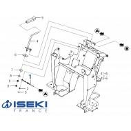 Câble Accélérateur ISEKI (1782-117-520-00)