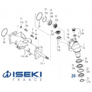 Roulement Inf. Pivot ISEKI (V600-110-690-90)