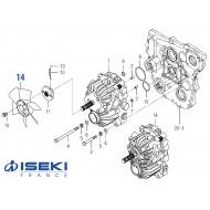 Ventilateur Hydro ISEKI (1725-210-002-00)