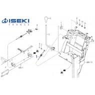 Câble Accélérateur ISEKI (1725-117-720-10)