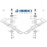 Vis de Lame ISEKI (V203-361-202-50)
