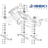 Lame ISEKI (8595-306-055-10)