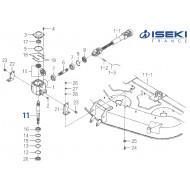 Arbre Principal ISEKI (8657-201-074-00)