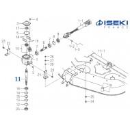 Arbre Principal ISEKI (8654-201-072-10)