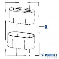 Filtre à Air ISEKI (418110)