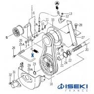 Ressort ISEKI (1593-332-053-00)