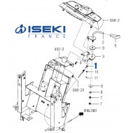 Câble Accélérateur ISEKI (1705-117-230-10)