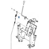 Ressort de Câble ISEKI (1705-332-006-00)
