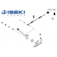 Câble Accélérateur ISEKI (1832-117-230-00)