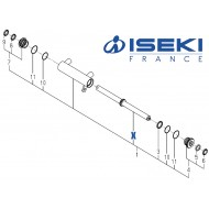 Axe de Piston ISEKI (K167-005-200-10)