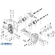 Circlip ISEKI (1710-241-053-00)