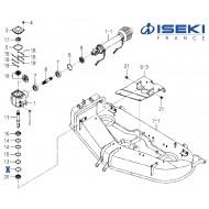 Circlip ISEKI (V705-140-055-00)