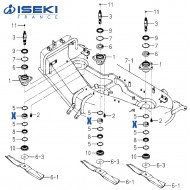 Roulement ISEKI (8657-301-066-00)