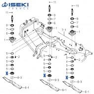 Flasque ISEKI (8657-301-007-00)