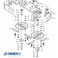 Rondelle Ressort ISEKI (8675-306-004-00)