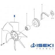 Ventilateur ISEKI (6213-660-026-00)