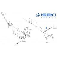 Câble Accélérateur ISEKI (1770-118-200-00)