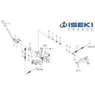 Câble Accélérateur ISEKI (1770-117-200-20)