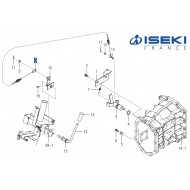 Câble 4WD ISEKI (1770-225-220-10)