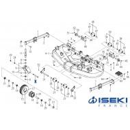 Axe ISEKI (8654-501-002-00)