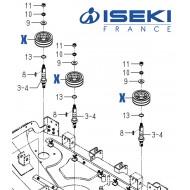 Poulie ISEKI (8654-202-002-20)