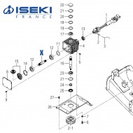 Arbre ISEKI (8654-201-002-00)