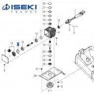 Circlip ISEKI (V705-140-072-00)