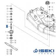 Arbre ISEKI (8654-301-002-10)