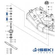 Roulement ISEKI (V600-110-630-50)