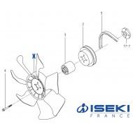 Ventilateur ISEKI (6213-660-016-00)