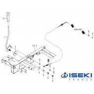 Câble Accélérateur ISEKI (1752-117-210-10)
