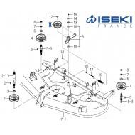 Galet ISEKI (3100-703-230-10)