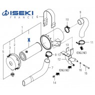 Filtre à Air ISEKI (1650-104-203-00/A)