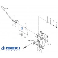 Câble Accélérateur ISEKI (1771-117-210-00)