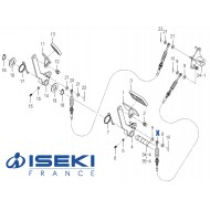 Câble HST ISEKI (1771-272-260-00)