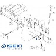 Câble Auto-Cruise ISEKI (1771-275-280-00)