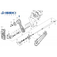 Courroie ISEKI (3836-303-051-00)