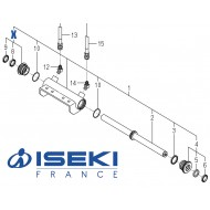 Kit Joints Vérin ISEKI (K167-005-300-10)