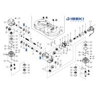 Roulement de Boîtier ISEKI (V600-110-620-50)