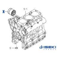 Filtre à Huile ISEKI (6213-240-005-10/A)