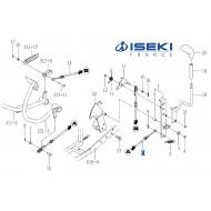 Câble Cruise-Control ISEKI (1774-272-600-00)