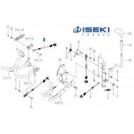 Câble Avancement ISEKI (1774-272-610-00)